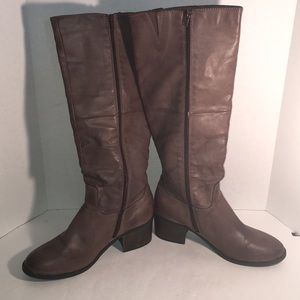 """🎉SALE 2/$50 3/$60 """"Chloe"""" Riding Boots Taupe"""